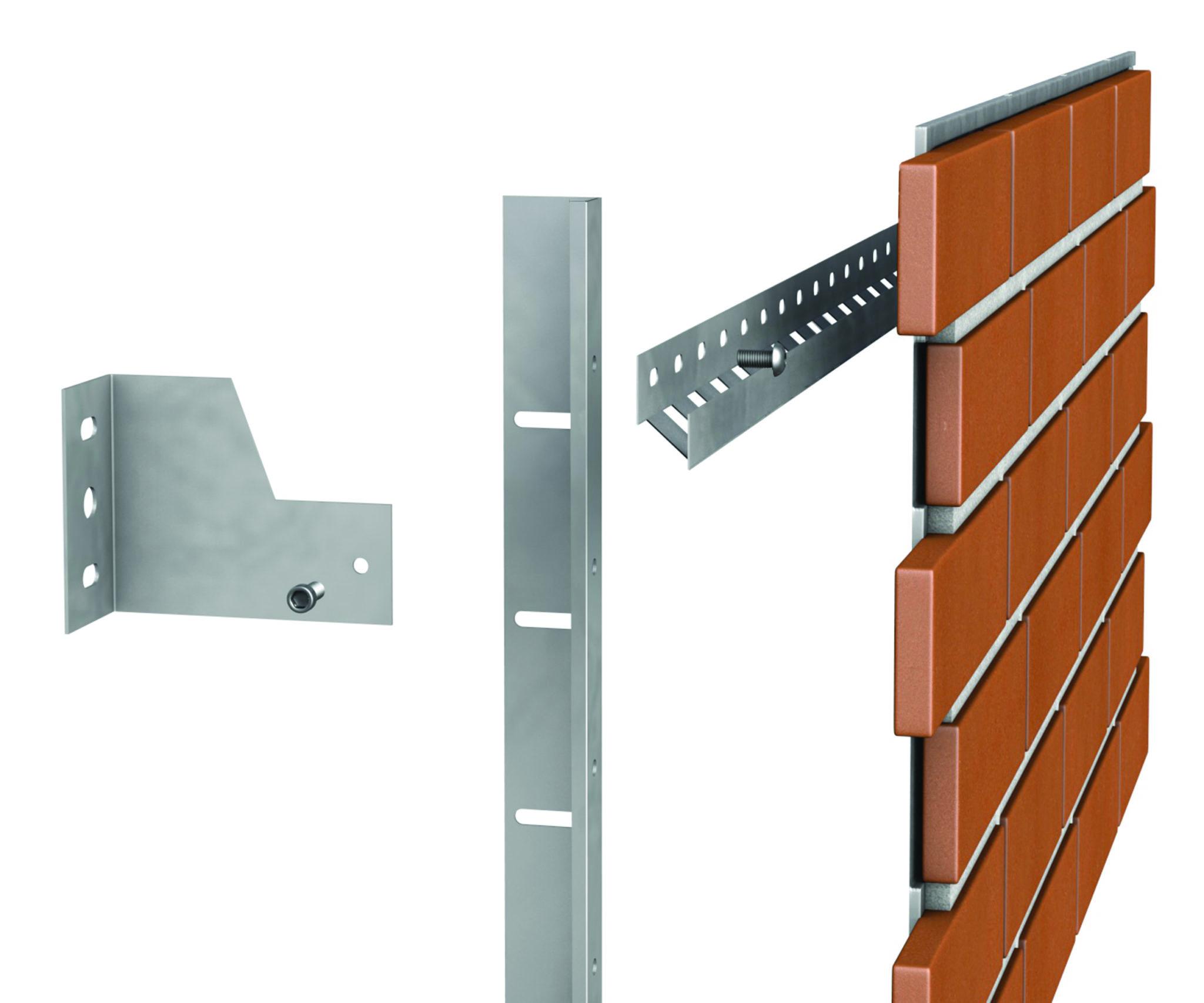 Eristysjärjestelmä: seinäkiinnike, eristyskisko, asennuskisko